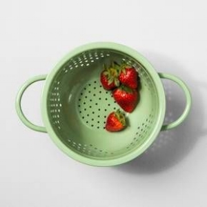 Mini Colander in Sage Green