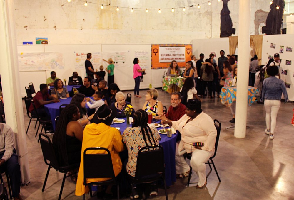 We packed the house with youth, family, staff, and supporters at the beautiful Ashé Cultural Arts Center!