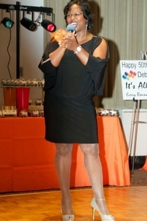 Dr. Debbie Bullock at her 50th Birthday Party