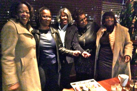 l to r  Lady Peggy Maclin, Lady Jacqueline Thornton, Lady Carla Debnam, Lady Wanda Smith  & Lady Monique Carter
