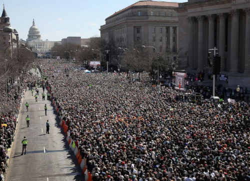 March for Our Lives 2018 Washington DC  photo: Win McNamee/Getty Images