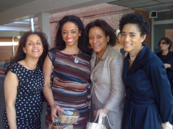 Resurrection Sunday 2011 with Jennifer & her sisters,  l-r Elsa, Lesley, Weptanomah and Jennifer