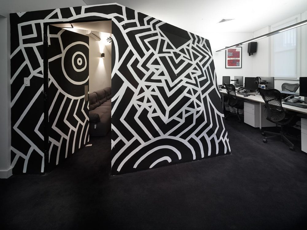 LISTENING ROOM AT MINISTRY OF SOUND