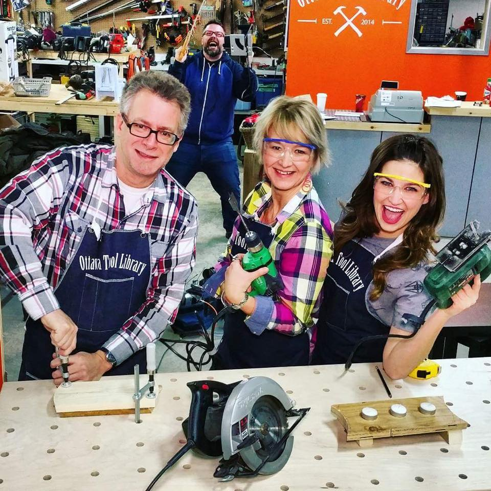 Ottawa Tool Library For a minimal membership fee, members of the OTL have unlimited access to tools for any of their home projects. Read More