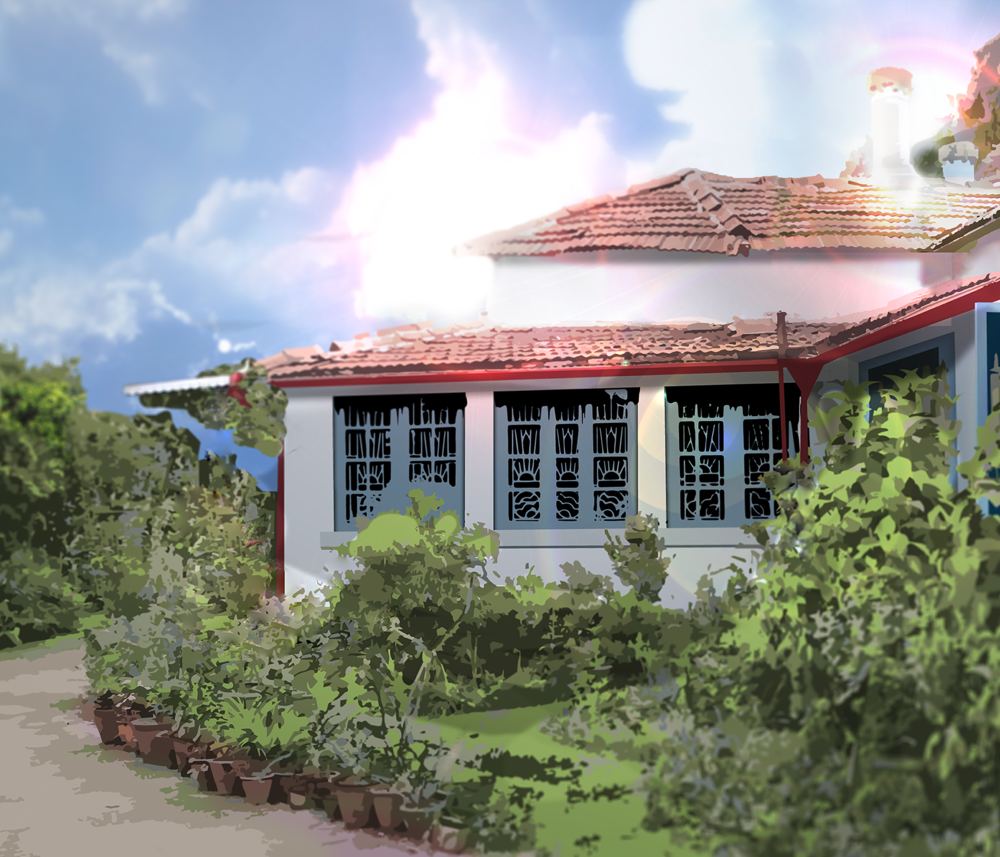 Glenwood - Below is a glimpse of the process I used to create a digital render of my aunt's family home.