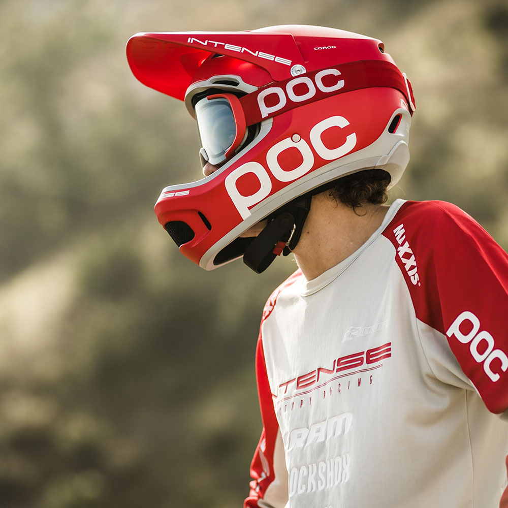 POC - combines bleeding-edge engineering with bleeding-eyes awesomeness to make safety gear that is as effective as it is cool.