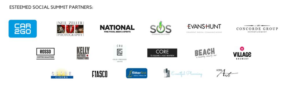 Social Summit 2015 Partners