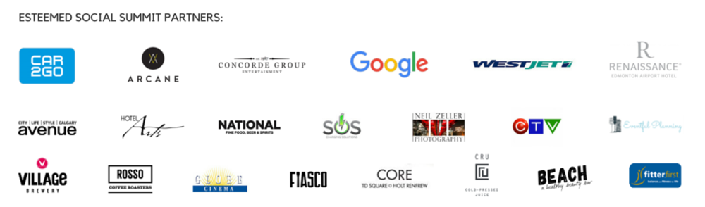 Social Summit 2015 Partners