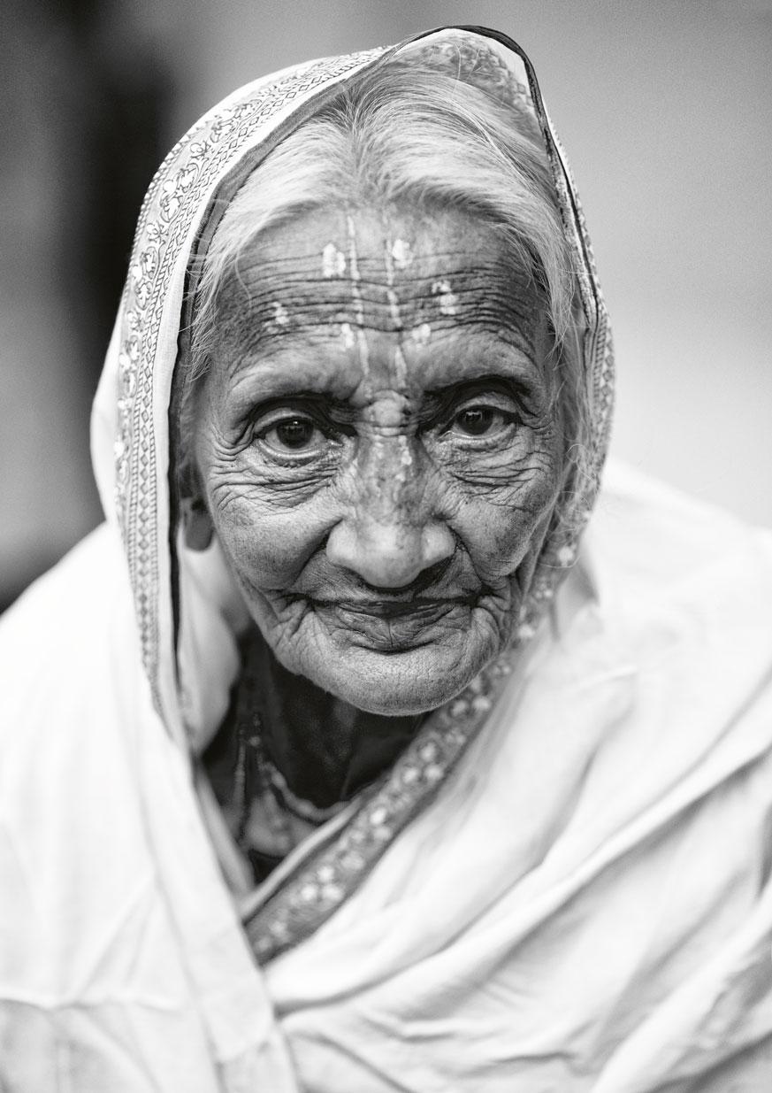 widow of vrindavan :: black and white II.jpg