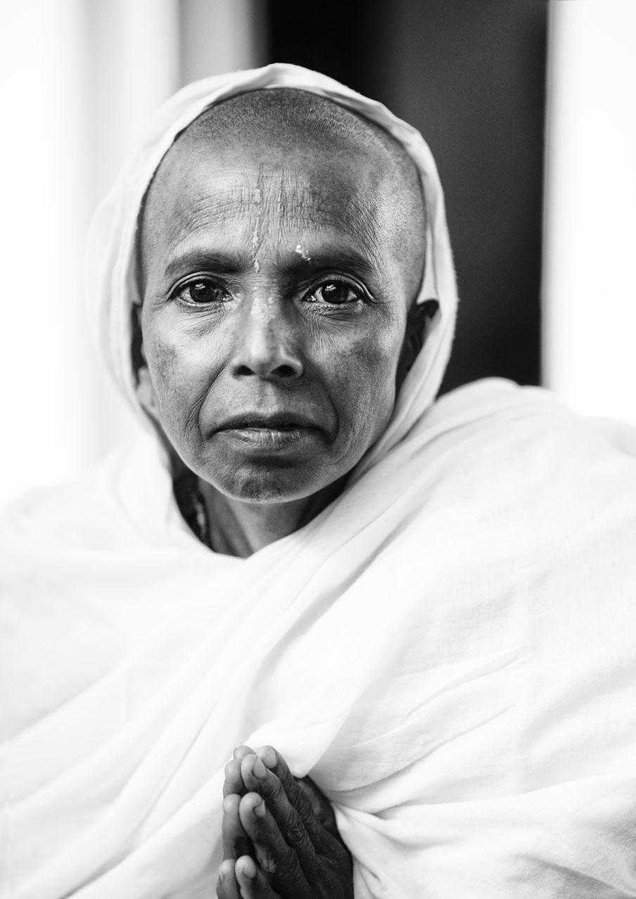 widow of vrindavan :: black and white III.jpg