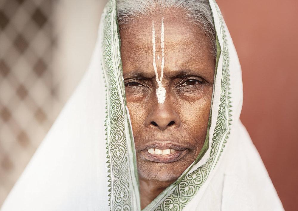 widow of vrindavan  outside ashram.jpg