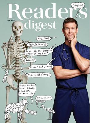Readers Digest - Dr. Travis Stork