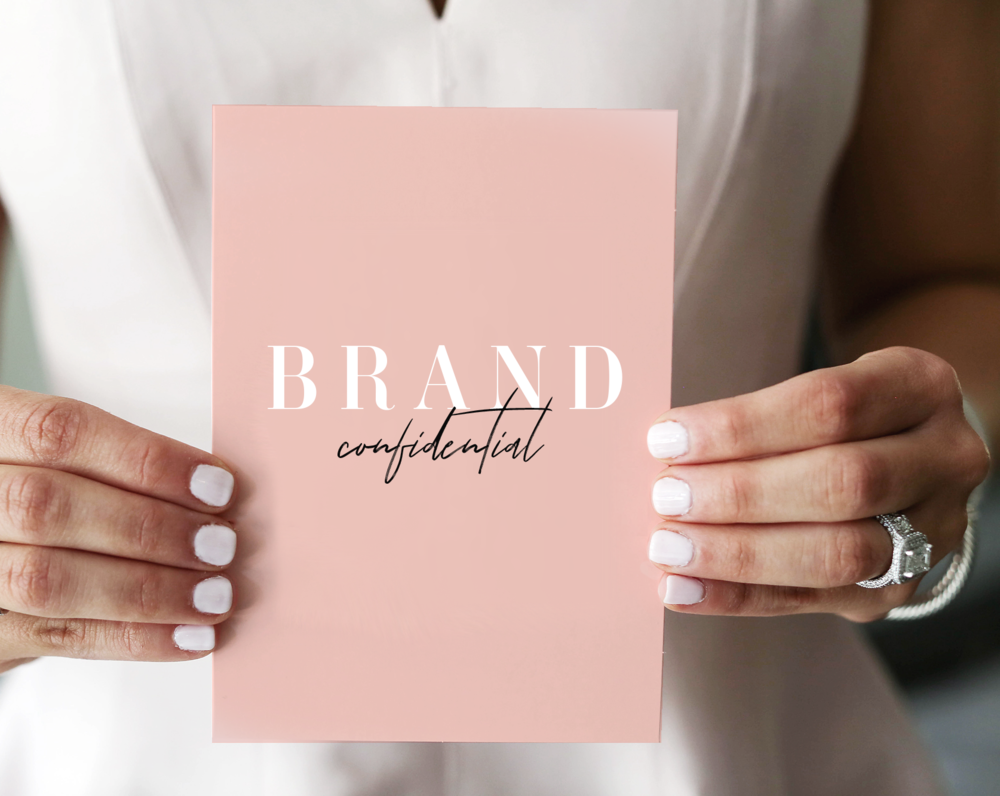 Brand Confidential - Stop feeling like everyone else, scrolling through everyone else's feed and doing it their way. Stand apart with your own story. Join us for a group brand strategy experience, where we will dig deep to find your signature spark.  Learn more