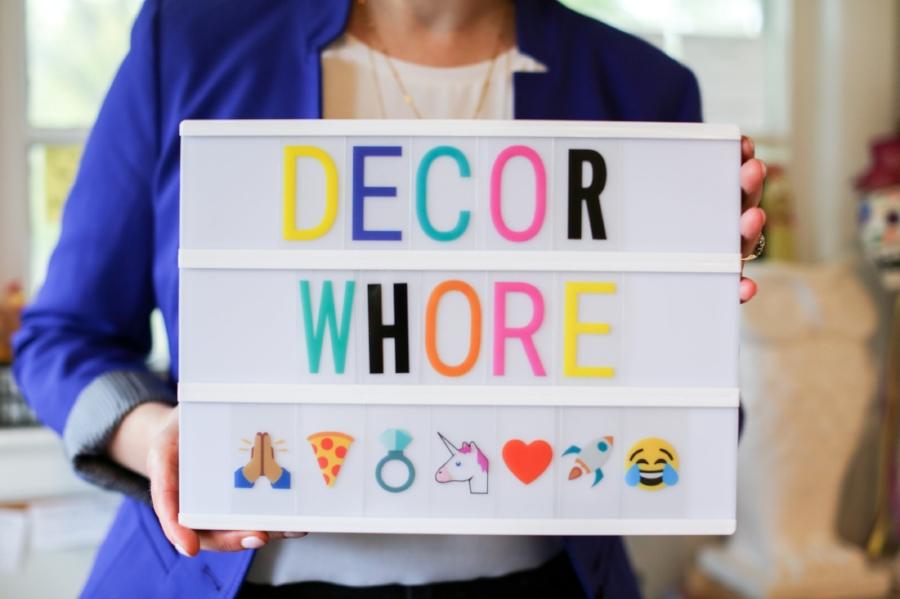 Decor-whore