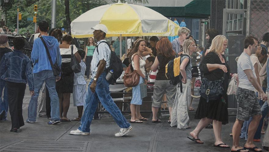 Union Square sidewalk café