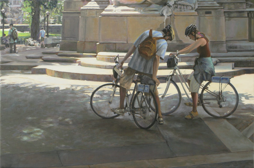 Cyclists, Mechanic's Gate