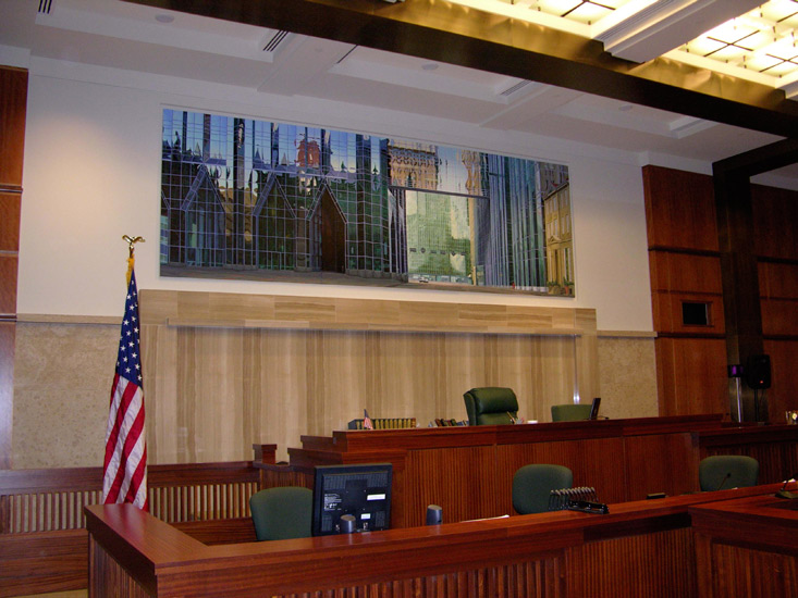 PPG installed in Pittsburgh Federal Courthouse Courtroom