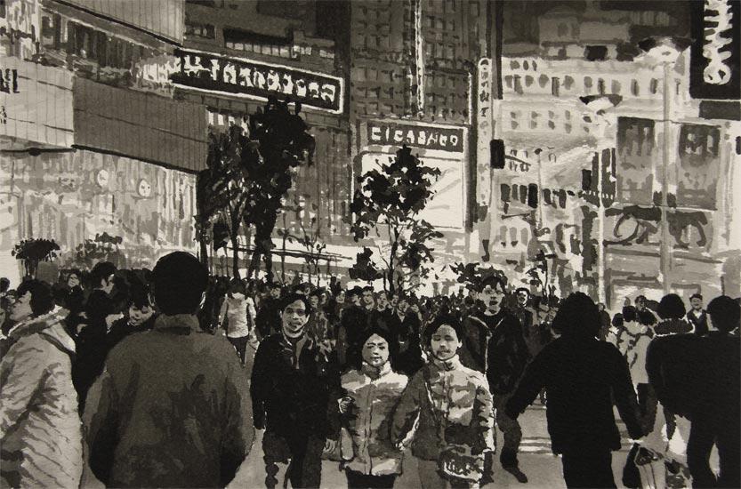 Shanghai Sketch #11