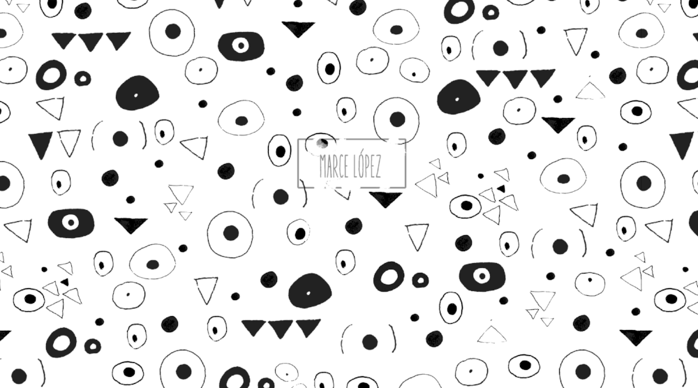 patternklimtnegro