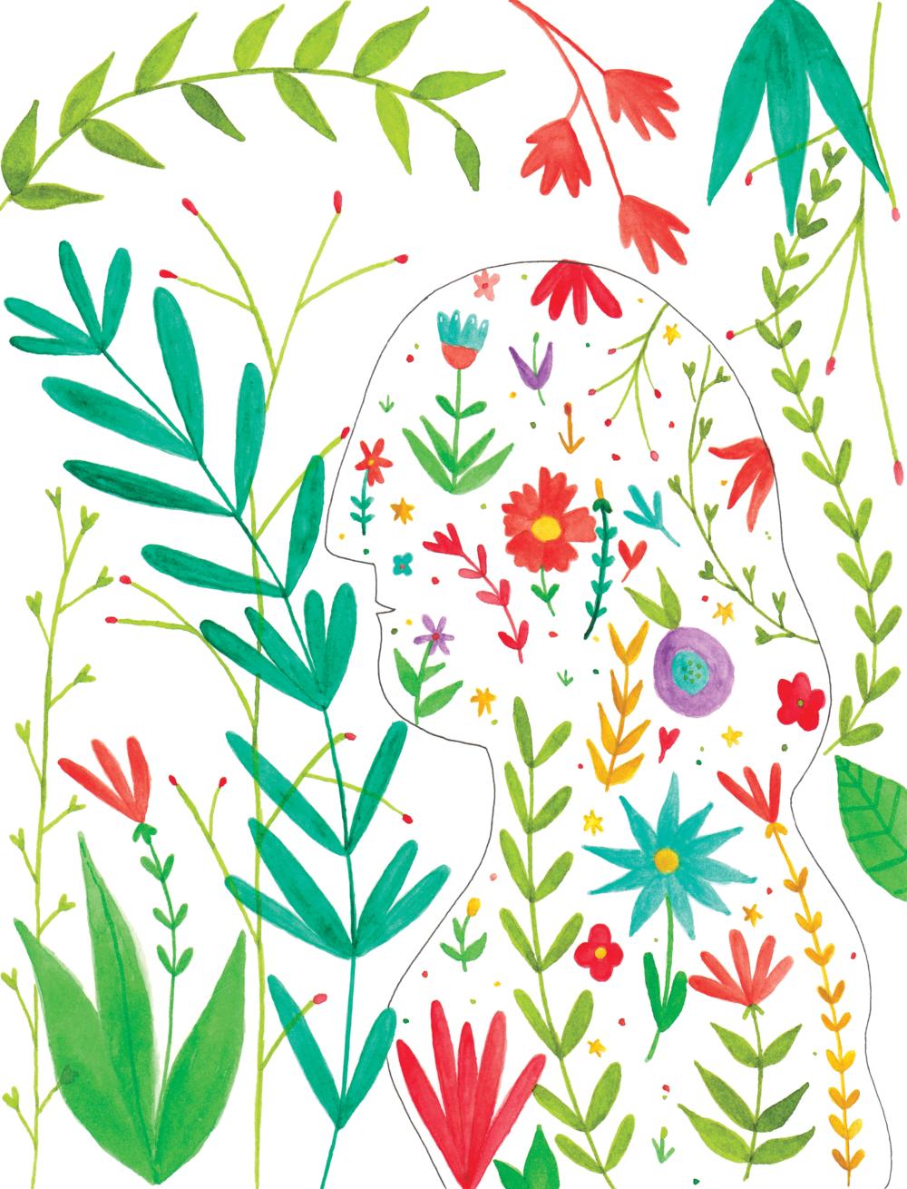 Concha Espina - -illustration