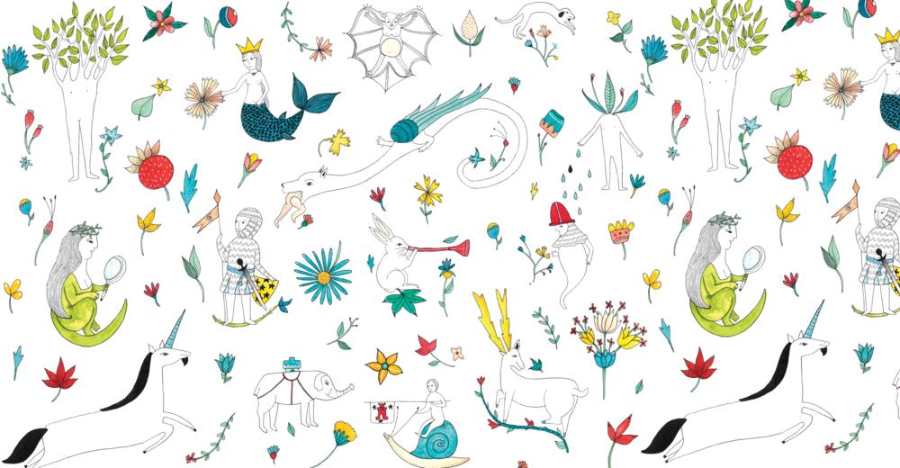 casita de wendy - -pattern-