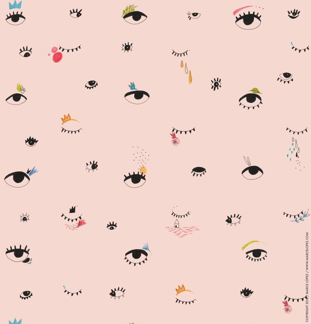 eyes pattern