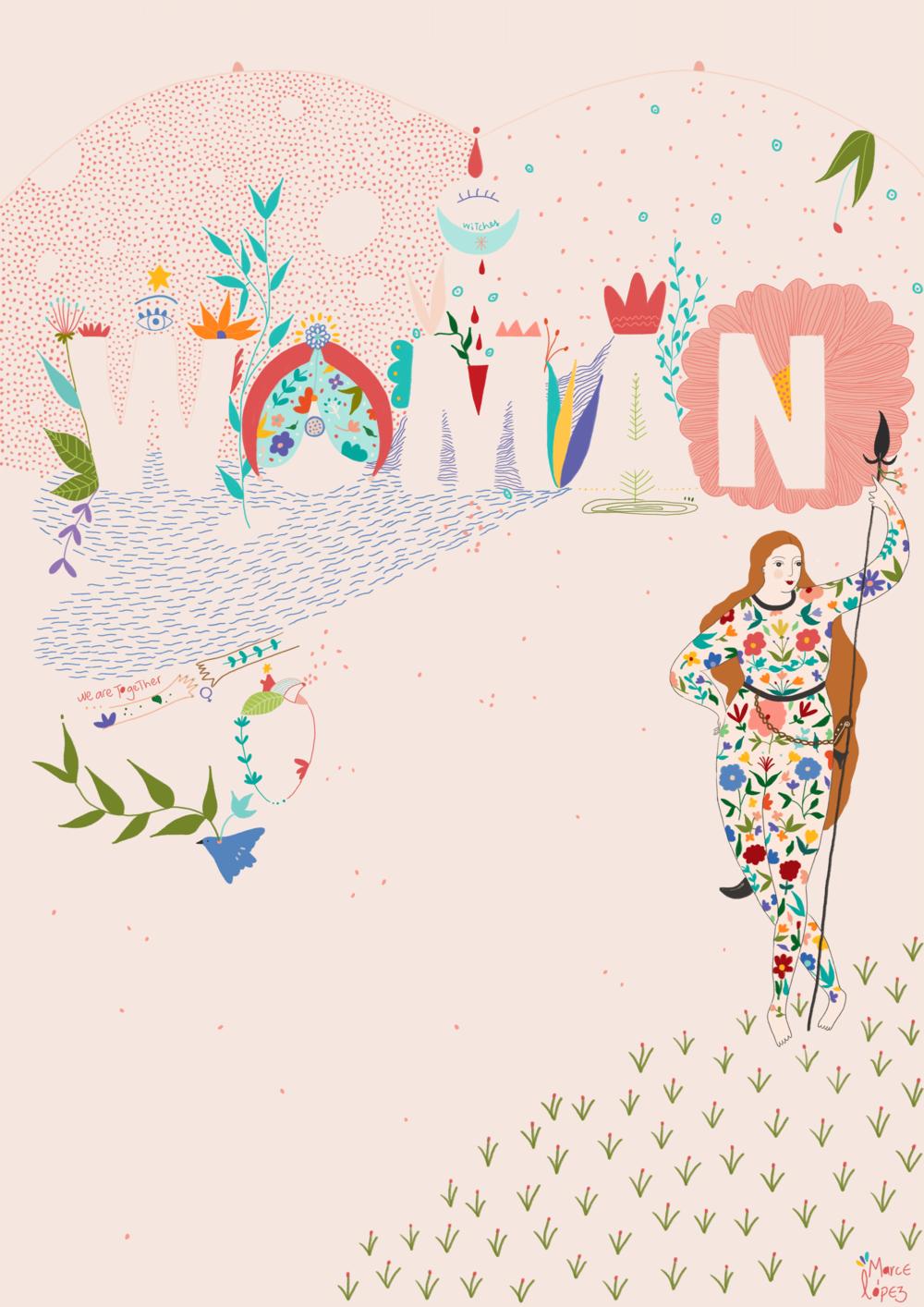 Woman - -illustration-