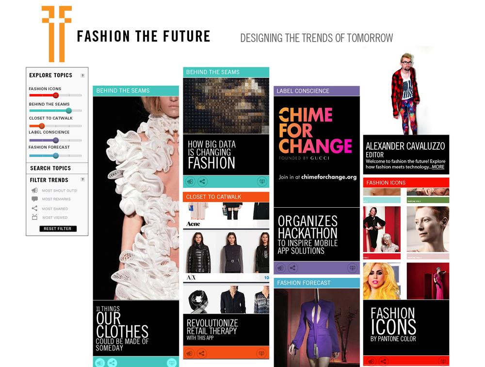 Fashion the Future  Homepage