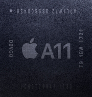 Apple A11 processor in iPhone X