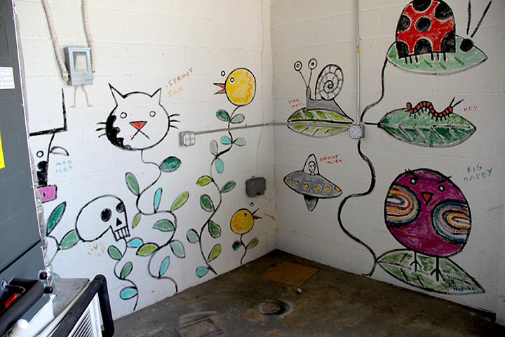 Keith Norval's sprout mural.