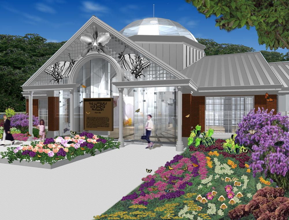 Butterfly & Orchid Conservatory Virginia Zoo Norfolk, VA Proposal Completed 2002