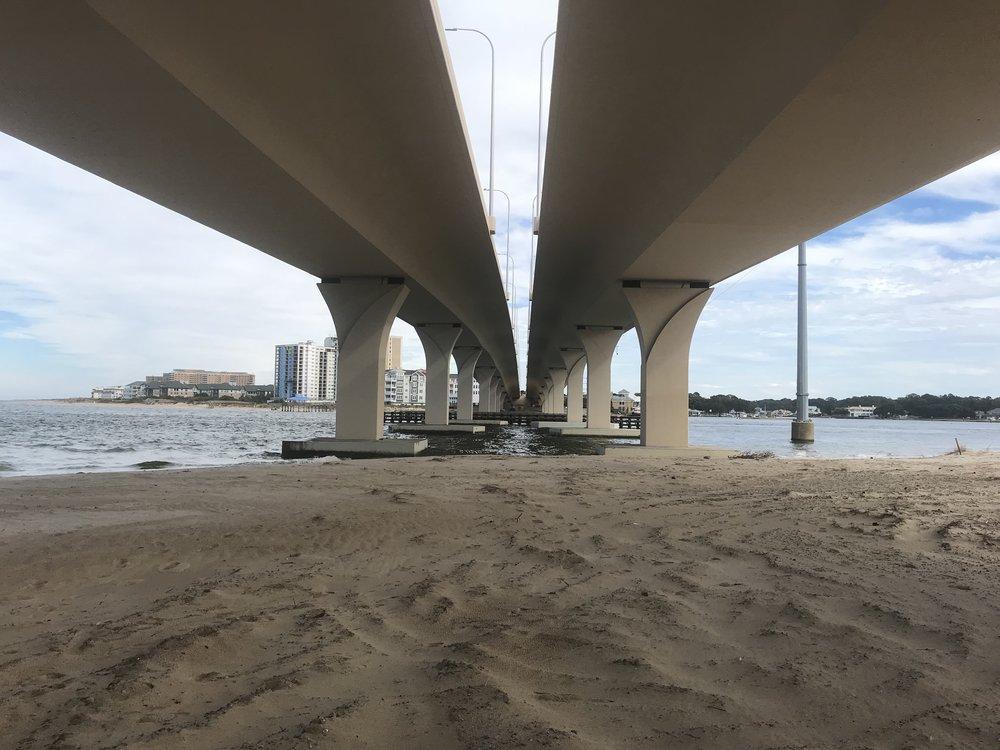 Lesner Bridge Construction