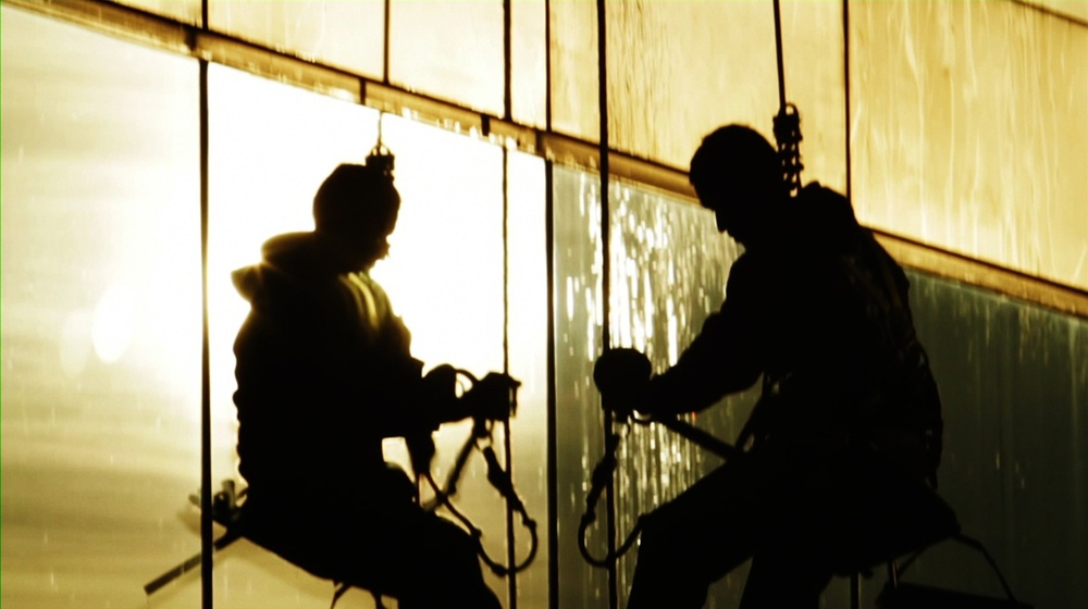 Paraíso Co-Editor Directed by Nadav Kurtz Three immigrant window cleaners risk their lives every day rappelling down some of Chicago's tallest skyscrapers.Paraísoreveals the danger of their job and what they see on the way down. View it at PBS POV Online.