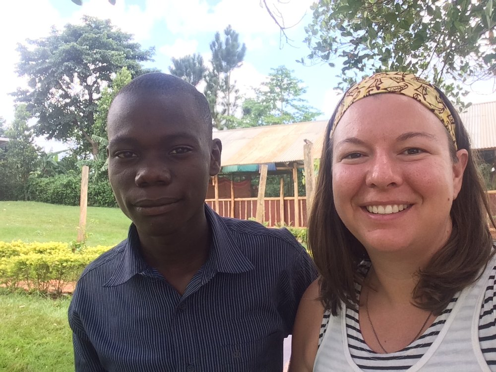 At the youth school with one youth boy named Barnabas who has a dream to visit US someday