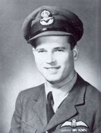 Wing Commander Guy Gibson.     This is the smile of a man who already knows he's a bad-ass.