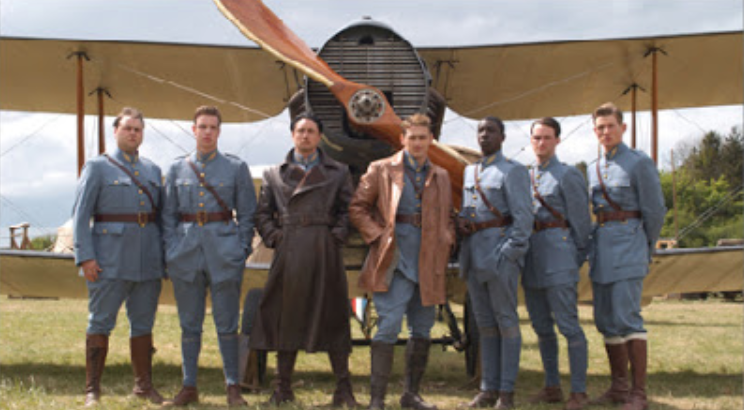 Flyboys  Cast     Look, we all saw Flyboys and that had like ten people in it, it can't have grown  that  much since the First World War, right?