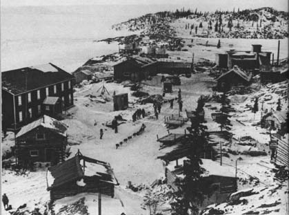 Port Radium, Great Bear Lake, North West Territories