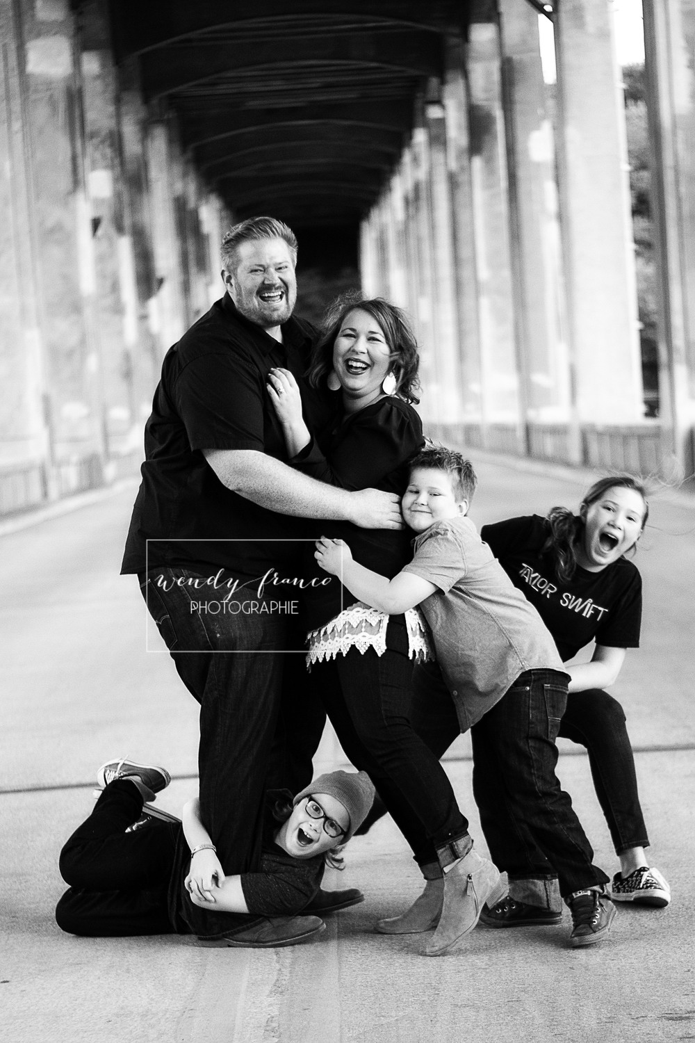 The Voigts were the most fun! Parents allowing their kids to be themselves and spontaneous equals my favorite picture of the year!