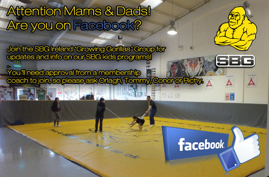 Parents! Join our SBG 'Growing Gorillas' Facebook group  — SBG