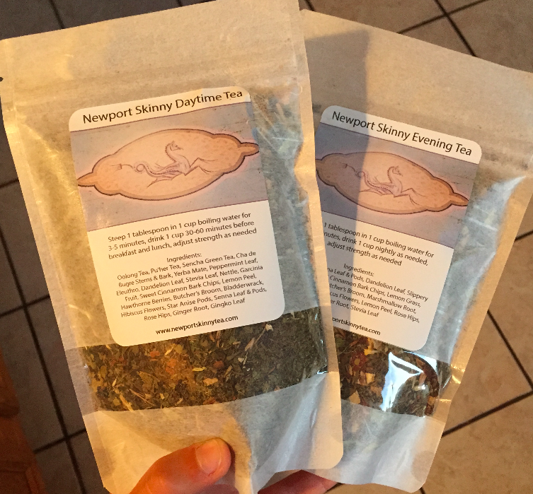 Newport Skinny Tea Product Review