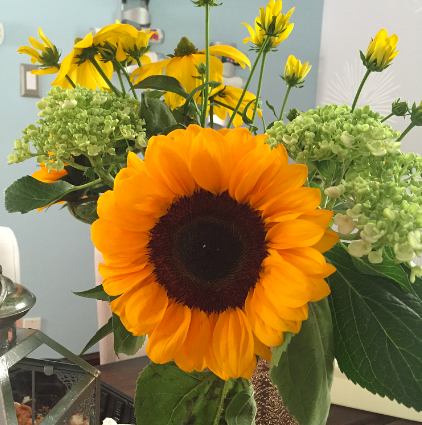 Sunflowers from my fiancé