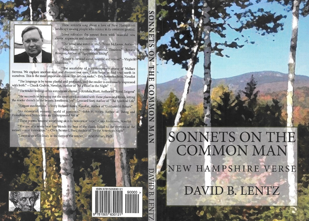 Our second book of sonnets published on March 4th and people have been saying nice things since we innovated with new 7-beat sonnet forms.