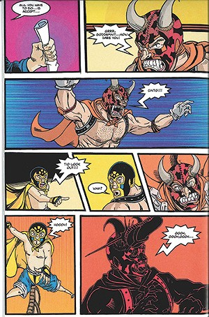 Page of El Cinto: King of the Ring
