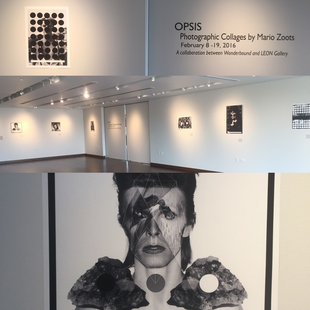 OPSIS - solo show at Parker Arts Center