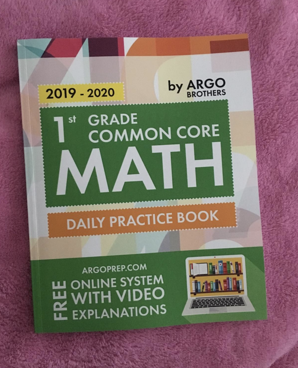 Maksym - This is a great learning book for my daughter. A font is easily readable and tasks are explained in picture and text! For sure this is the best price/quality Math book I have ever met.
