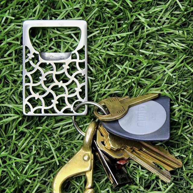 A simple classic #keychain #bottleopener , the Byzantine