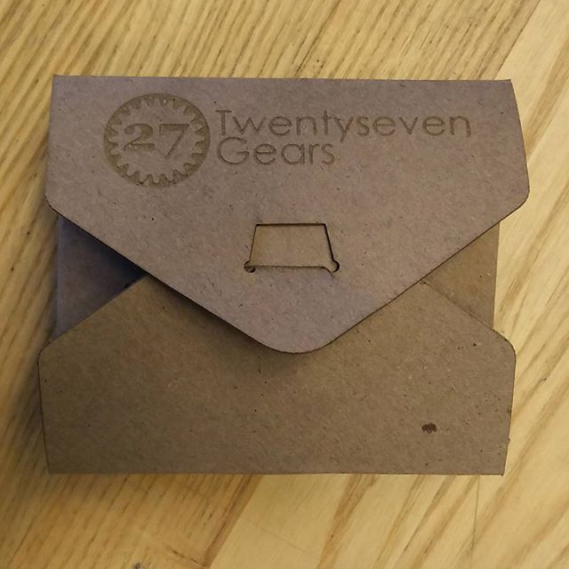 Testing out #packaging for #wallets.