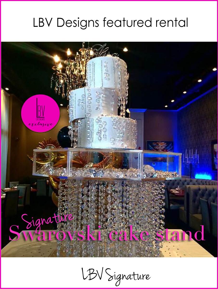 Swarovski-chandelier-cake-stand-bling-rental-lbvdesigns