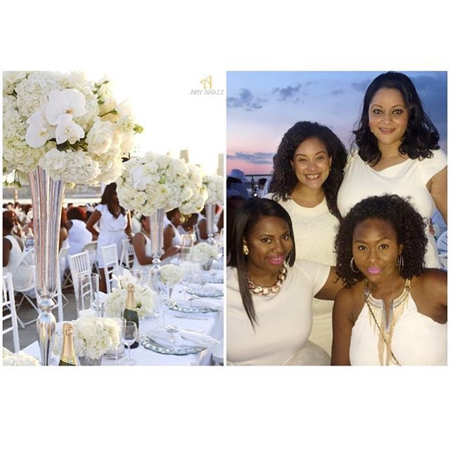 5a flights from Nola to NYC followed by taking the train with alllll my bags is soooo worth it... just to reunite with my girls! Once again another dinner en blanc where Makini slays the tablescape! 💗💗💗 @makiniregaldesigns @amyanaizphoto @ellescoutureevents 😍#dinnerenblanc #dinnerenblancnyc #newyorkcity #nolagirlinnyc