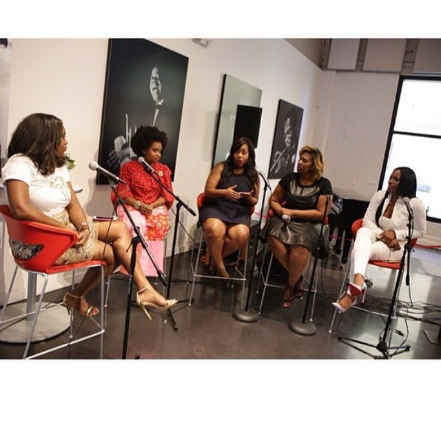 """[Women Crushing It Wednesday x Archives x Do it in heels or NOT at all] This summer in New Orleans, 4 extraordinary female entrepreneurs joined me on panel to discuss """"How to turn your passion into a paycheck"""". The gems they dropped were priceless. I encourage u to check out & support these ladies as they continue soar in their industries and kill it in their high heels! Thank u ladies for being a beautiful example of following your dreams💗 @iammajasly @iamgarnerscott @tabithabethune @byangroup @watchcourtwork @wildlifereserve #lbvdoitinheels #girlboss #neworleans #followyournola #wcw #neworleansjazzmarket #paneldiscussion #passiontopaycheck #doitinheels #womencrushingitwednesday #entrepreneurs #supportsmallbusiness"""